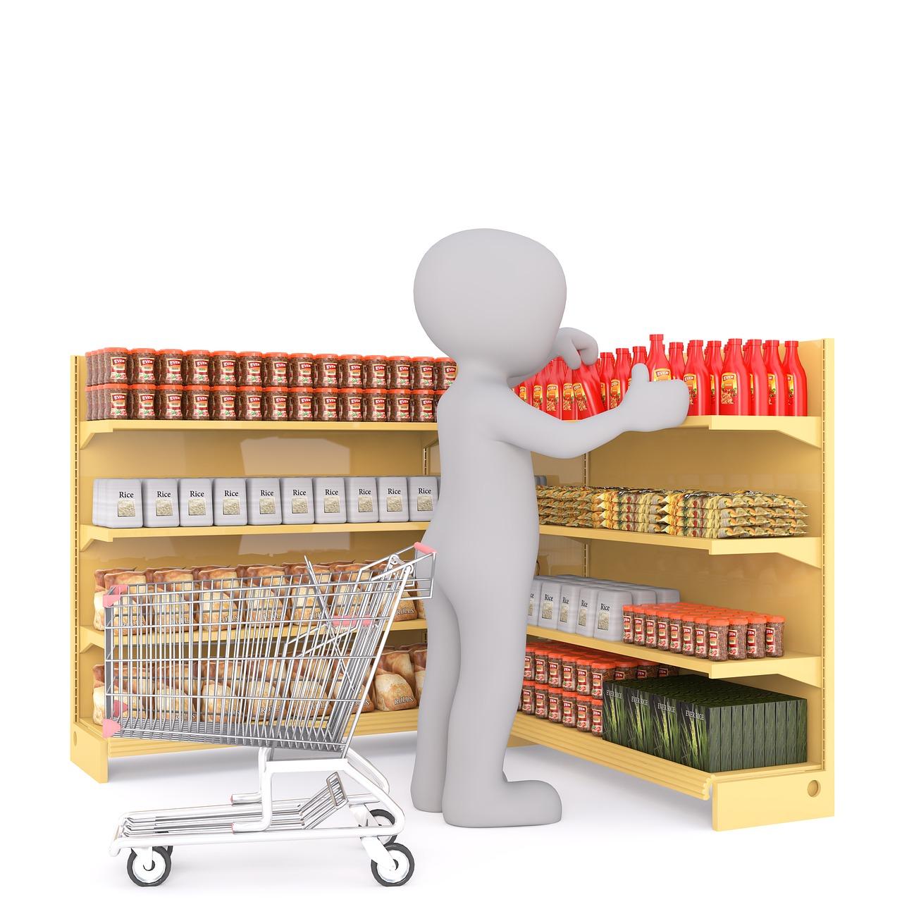 Regał: obowiązkowe wyposażenie każdego sklepu