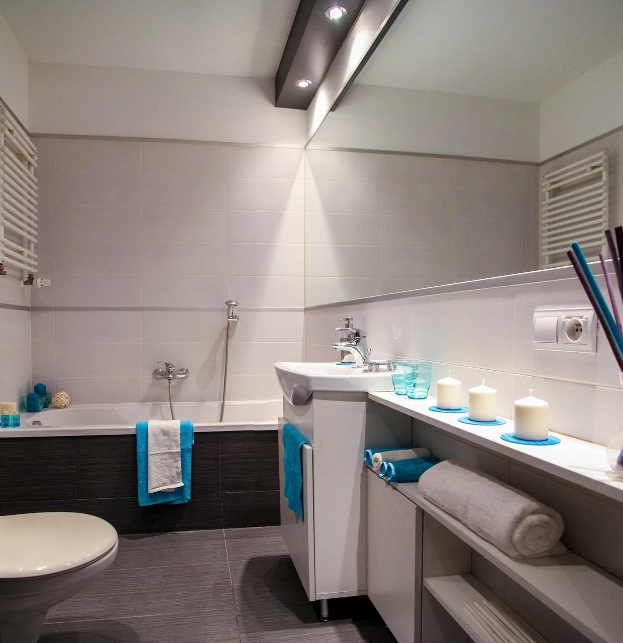 Wyposażenie łazienek: suszarki elektryczne